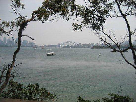 Bradleys Head Trail: Sydney harbour