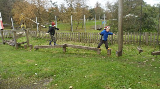 Kielder Waterside: One of the many playgrounds