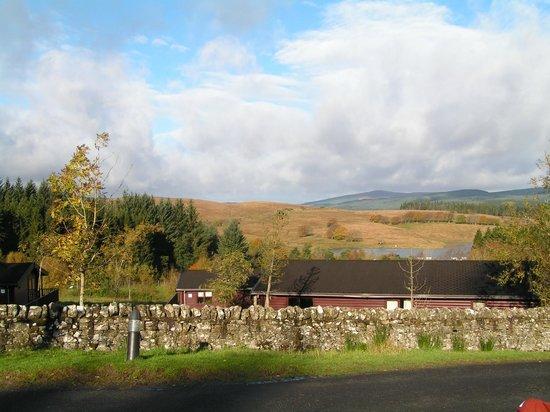 Kielder Waterside: View from the lodge