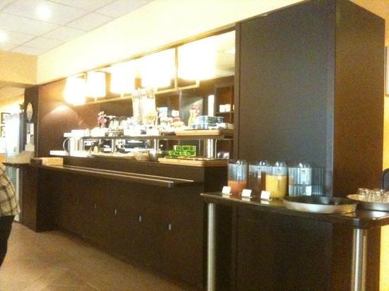 Hotel du Globe : buffet della prima colazione
