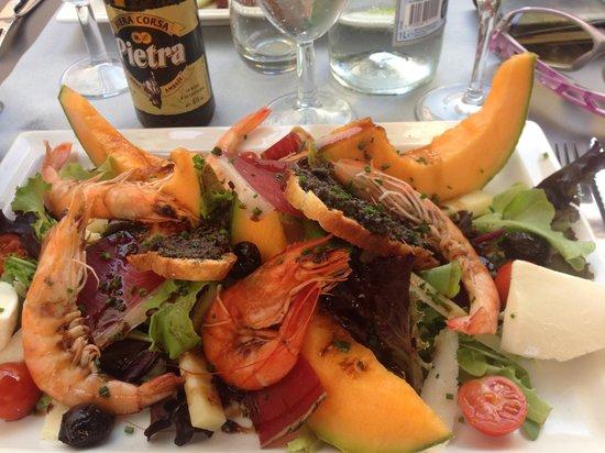 Le Bistrot d'Emile: Excellent Salads!