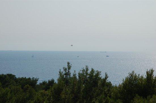 Hotel Pula: vue sur mer