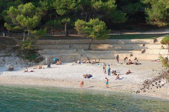 Hotel Pula: plage