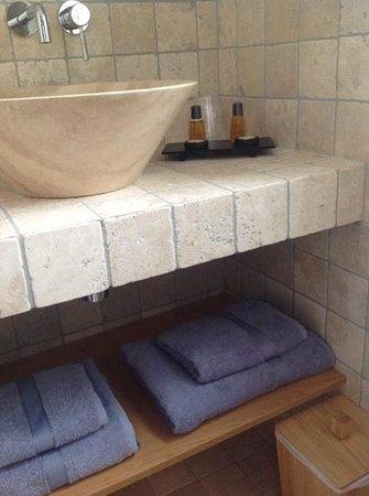 Le Beau Site : salle de bains