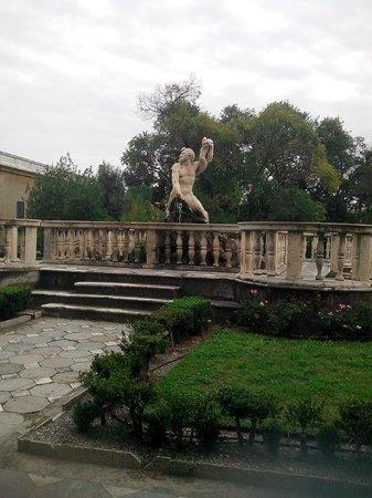 Villa del Principe : Giardino, particolare 1