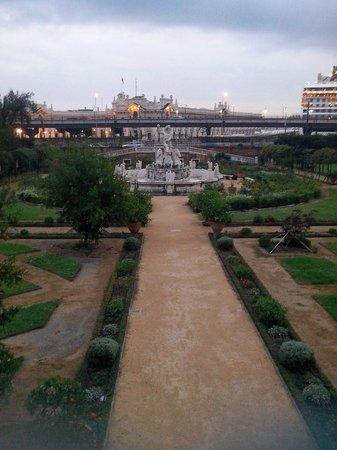 Villa del Principe : Giardino, particolare 2