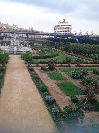 Villa del Principe : Giardino, particolare 3