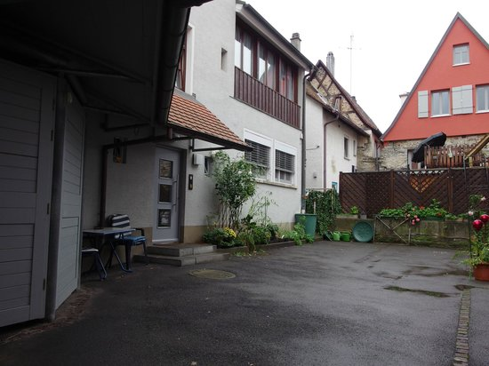 Hotel-Gasthof Zum Anker: Cortile d'ingresso
