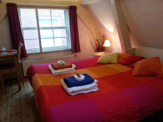 CityCenter Bed and Breakfast Amsterdam : Amsterdam bed and breakfast CityCenter's double room