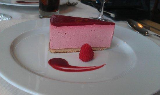 La Folle Epoque : Bavarois en dessert pour le lunch