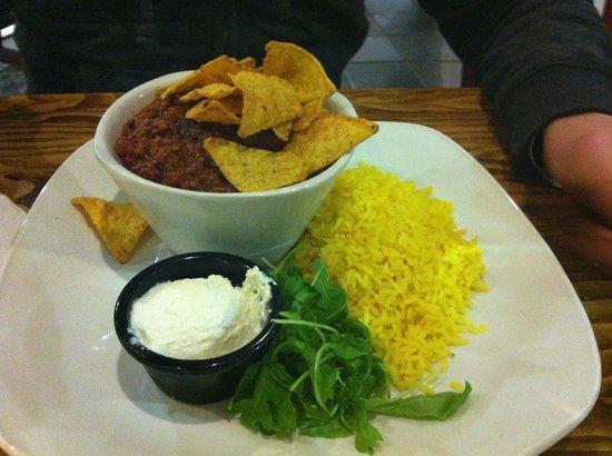 SnowDome: Chili con carni