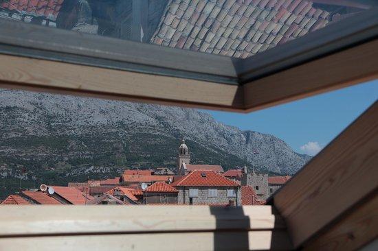 Apartments Depolo: Вид на Старый город с верхнего этажа апартаментов