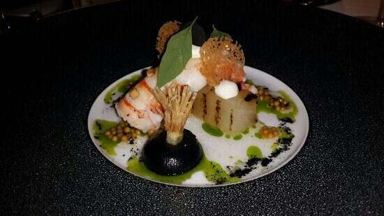 Restaurant Amador : Carabineros shrimp