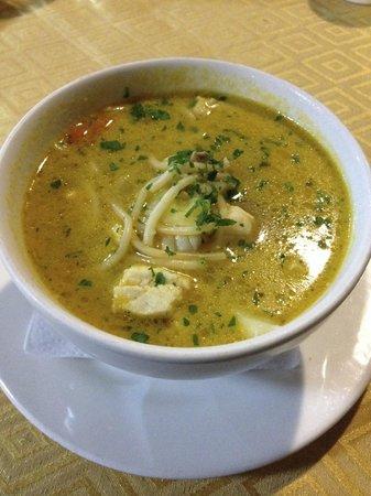 Rosita: Fish soup. Delicious!