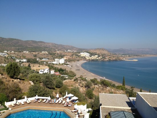 Lindos Mare Hotel: View from the room