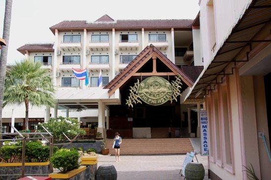 Phi Phi Hotel: Indgang
