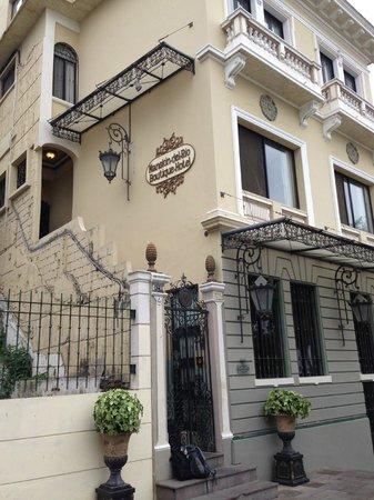 Mansion del Rio : Entrance to hotel
