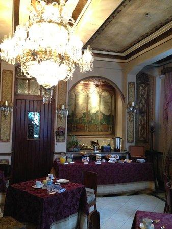 Mansion del Rio : Breakfast area