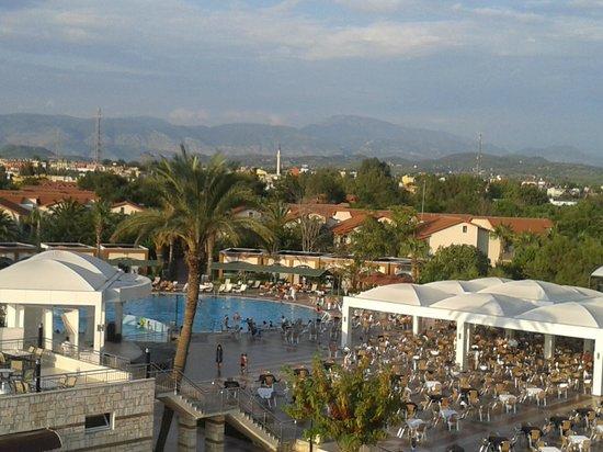 Club Hotel Turan Prince World: Вид с Колеса обозрения