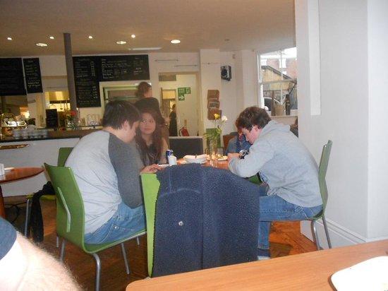 Blackburne House Cafe: family dining
