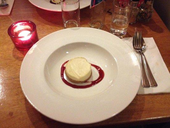Garlic Queen: cheese cake