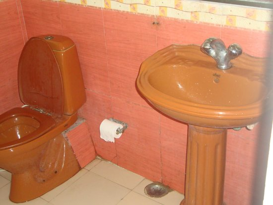 The Kingdom : Dirty and smelly with projecting rusted nails and broken commode lid