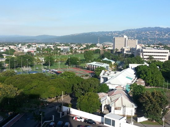 The Courtleigh Hotel and Suites: View of West Kingston from 9th floor