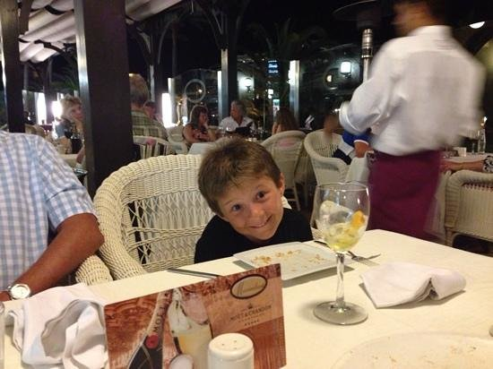 Maximilians  Restaurant. Pizza&Pasta.Boulevard El Faro: dinner at Maximillian's