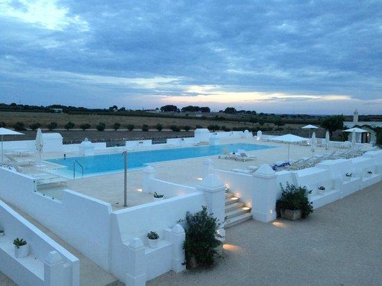 Masseria Bagnara Resort & Spa: la piscine et vue de la suite