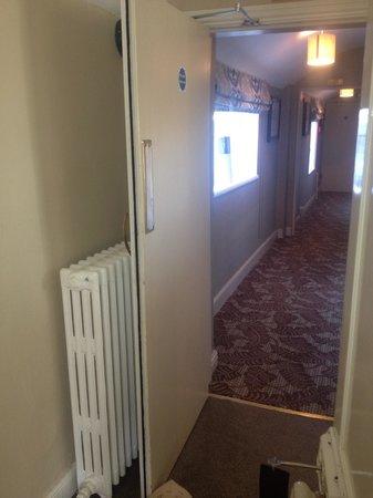 Congham Hall Hotel & Spa: Fire door wedged open