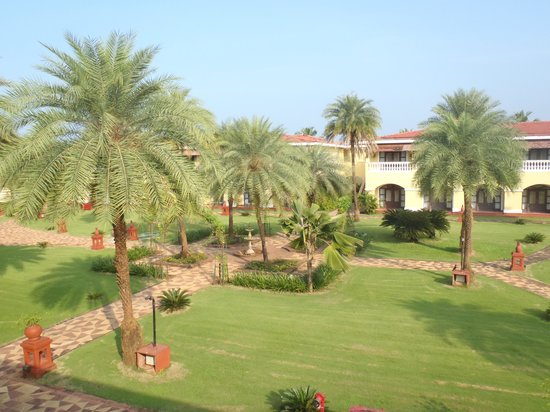 The LaLiT Golf & Spa Resort Goa: widok z balkonu