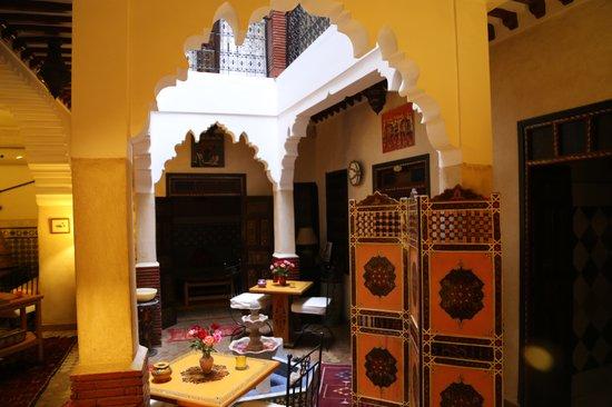 Riad Andalla : ingresso riad