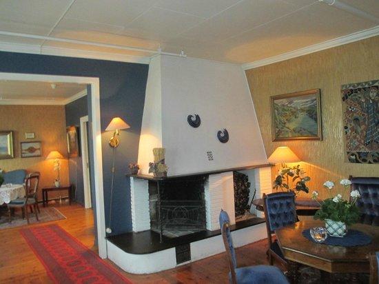 Leikanger Fjord Hotel: Внутренний вид отеля