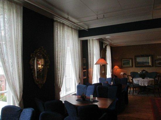 Leikanger Fjord Hotel: Одна из комнат для ужина