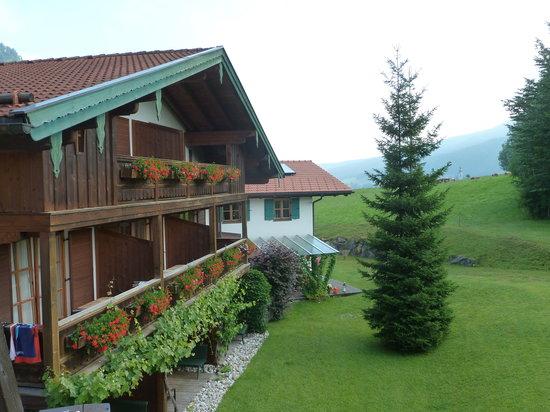 Landhotel Maiergschwendt: view from bedroom
