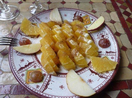 La Table Marocaine: Salade d'orange