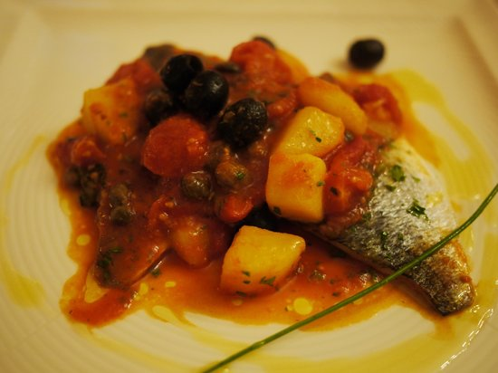 Il Paradiso Nascosto: Fish - this was wonderful!