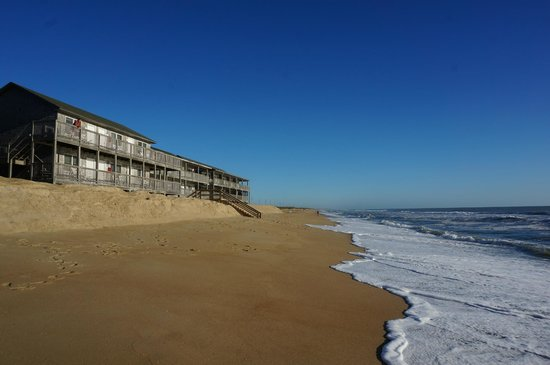 Cape Hatteras Motel : Soooo close to the Ocean!