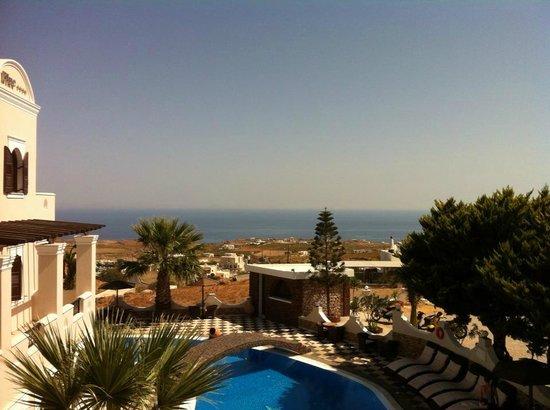 Evgenia Villas & Suites: Our balcony view