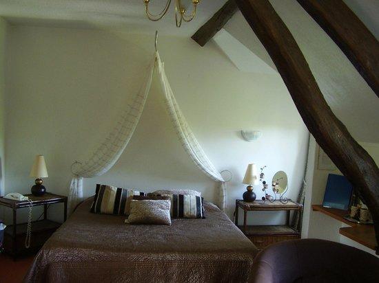 Silence Le Relais des Etangs de Guibert : Bedroom