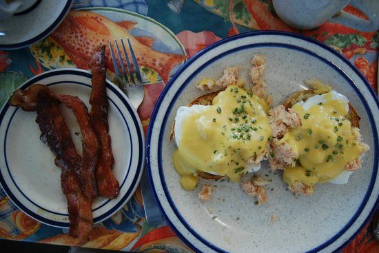 Sea Gull Restaurant: Eggs Pemaquid