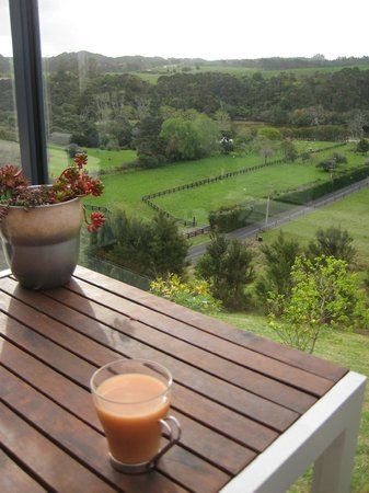 Baystay B&B: Cup of tea with a view!