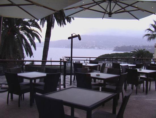 Grand Hotel Bristol Resort & Spa: на завтраке