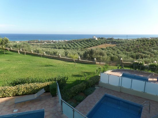 Carme Villas : View from upstairs balcony