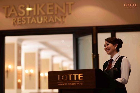 "Lotte City Hotel Tashkent Palace : Ресторан ""Ташкент"""