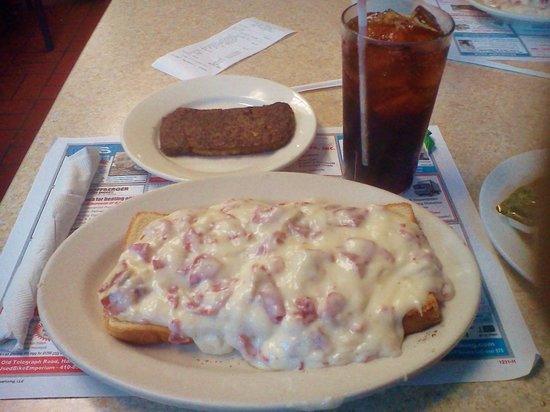 Jimmy's Restaurant: Chipped beef & scrapple were awesome!