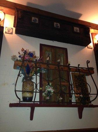 La Casa Argentina: Decoration in the cellar room of Casa Argentina