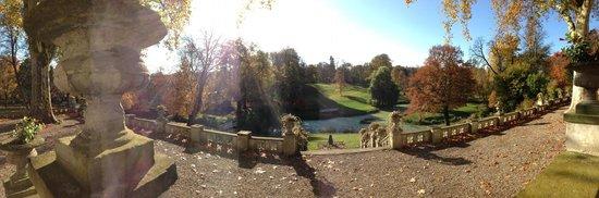 Schlosshotel Kittendorf: der Schlosspark