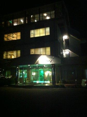 Ryokan Fukuzen: 夜に到着しました。