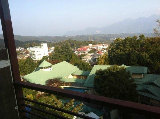Ryokan Fukuzen: 遠くの山々が見えます